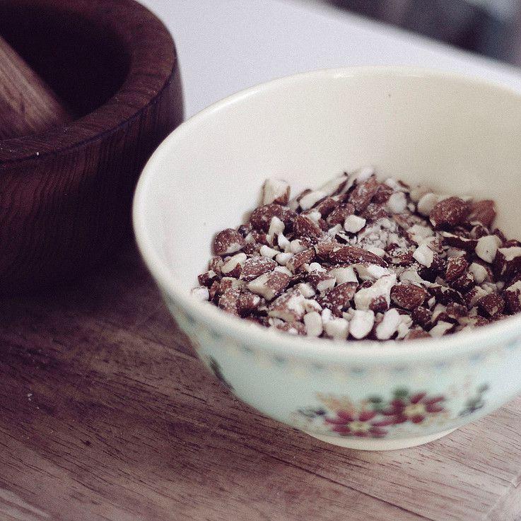amandes barre de céréales