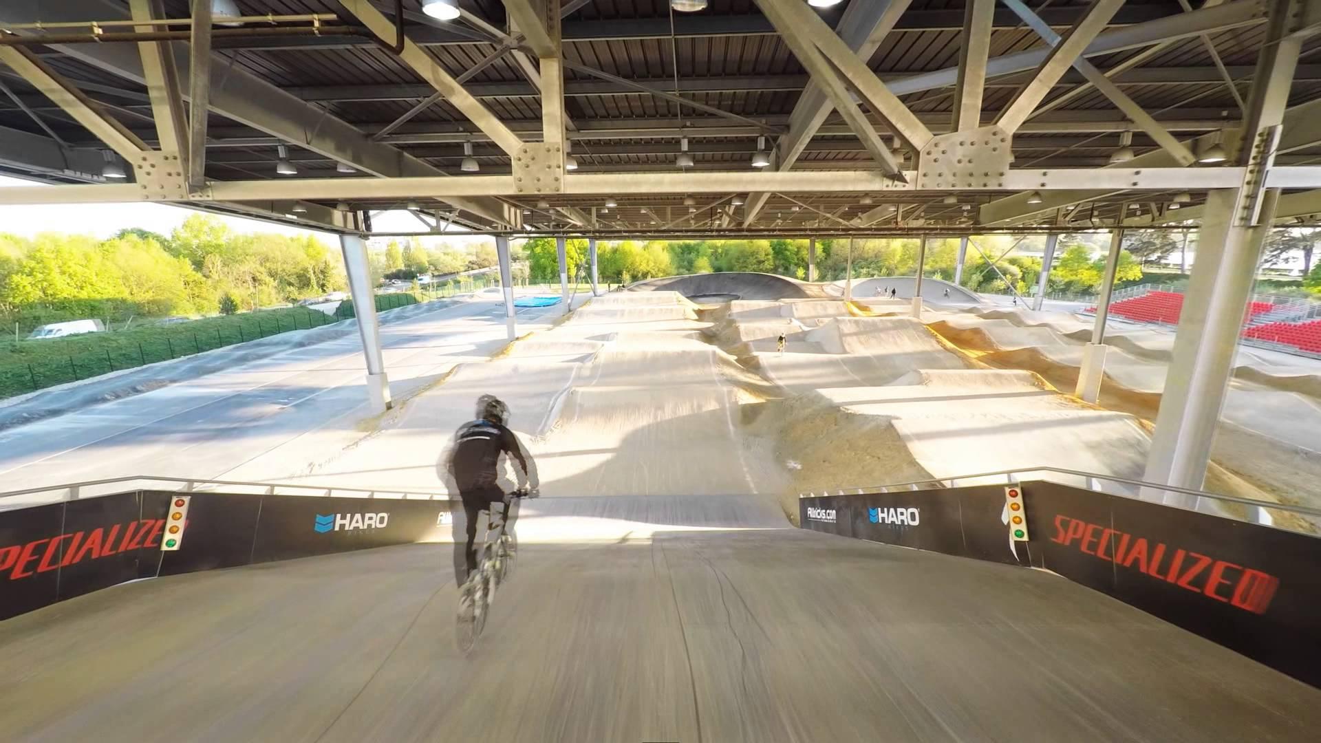 piste bmx velodrome national