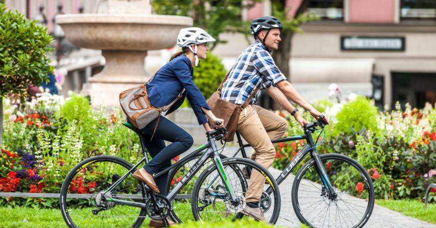 Infographie : les 5 chiffres clés du vélotaf