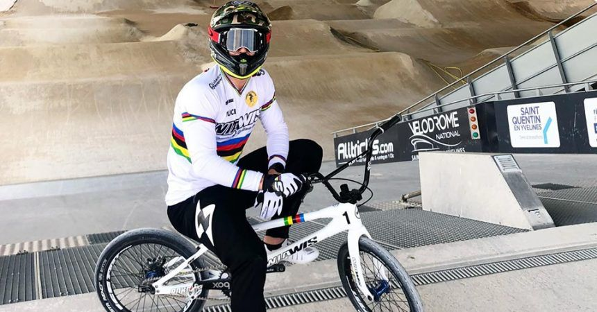 Interview de Sylvain André à quelques jours de la Coupe du Monde BMX