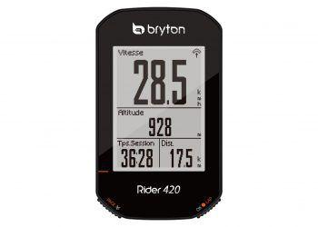 Test du Compteur GPS Bryton Rider 420
