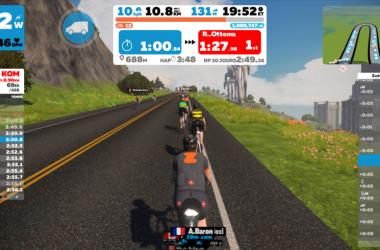 Zwift – L'appli qui fait de votre entraînement d'intérieur un jeu