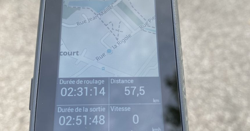 Test du compteur GPS Bryton Rider 860