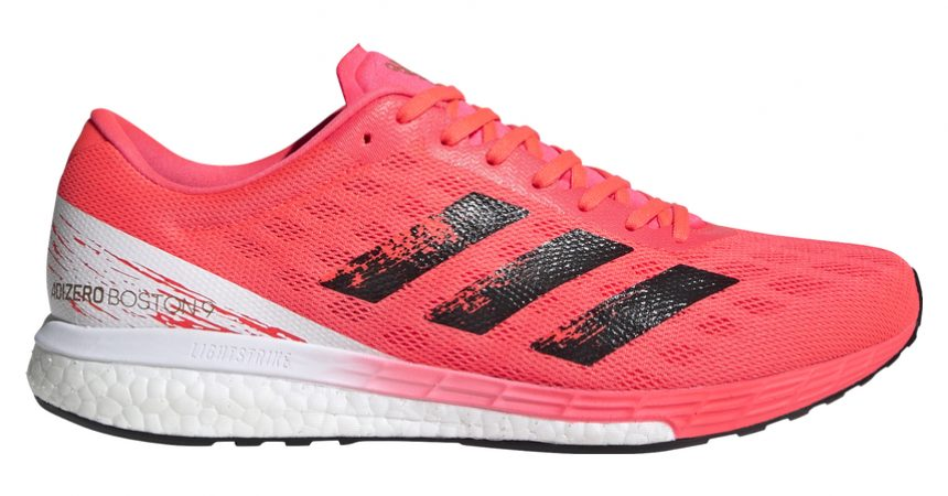 Test des chaussures running des Adidas Boston 9
