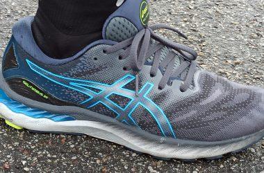 Test des chaussures de running Asics Nimbus 23