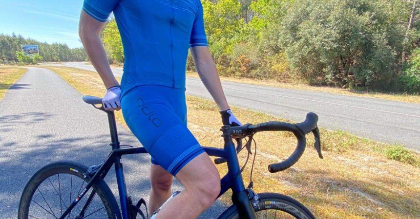 Test de la tenue de vélo de route ODLO ZeroWeight Ceramicool