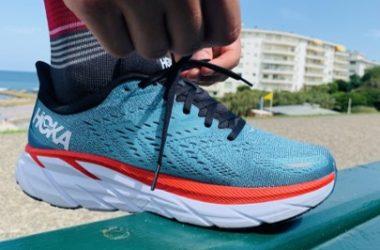 Test des chaussures de running HOKA Clifton 8